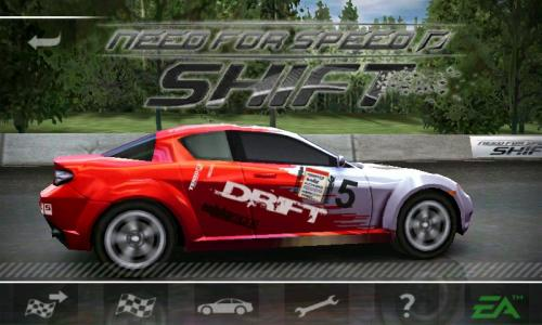 Need for Speed Shift HD для Windows Mobile